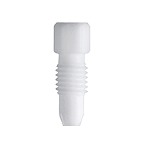 PTFE fitting, 1,6 mm OD, white