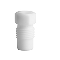 PTFE fitting, 6,35 mm OD, white